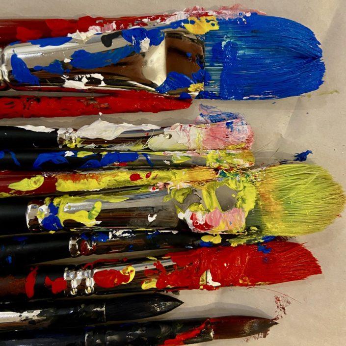 #Atelier Peindre des émotions